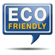 Eco friendly or bio sign — Foto Stock