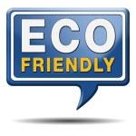 Eco friendly or bio sign — Stock Photo
