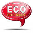 Eco friendly or bio sign — Stock Photo