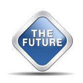 The future icon — Stock Photo