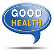 Good health sign — Stock Photo