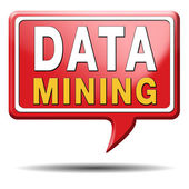 Data mining icon — Stock Photo