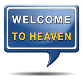 Welcome to heaven — Stock Photo
