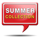 Summer collection — Stock Photo