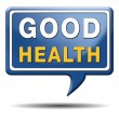 Stock Photo: Good health sign