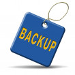 Backup icon or sign — Stock Photo