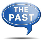 The past — Foto de Stock