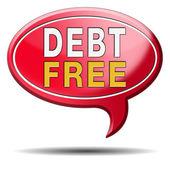 Zona libre de deuda — Foto de Stock