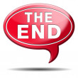 The end — Foto Stock