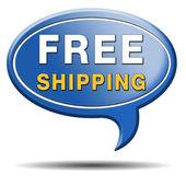 Free shipping — Stock Photo