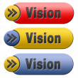 Vision button — Stock Photo