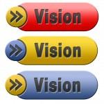 Постер, плакат: Vision button