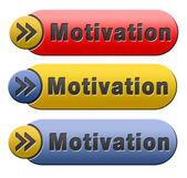 Motivation button — Stock Photo