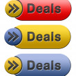 Stock Photo: Deals icon