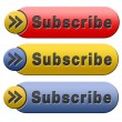 Stock Photo: Subscribe button
