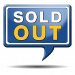 Sold out icon — Stock Photo #35419029