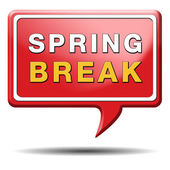 Spring break — Stock Photo