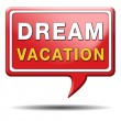 Dream vacation — Foto Stock