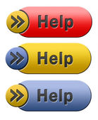 Hilfe-symbol — Stockfoto