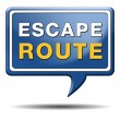 Escape route — Stock Photo