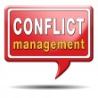 Conflict management — Stock Photo