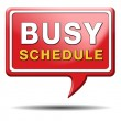 Stock Photo: Busy schedule
