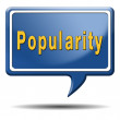 Popularity — Stock Photo