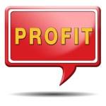 Profit icon — Stock Photo #35987313