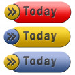 Today button — Stock Photo