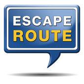 Escape route — Stock Photo