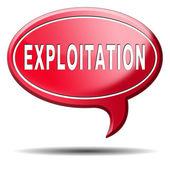 Exploitation — Stock Photo