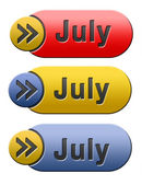 July button — Stock Photo