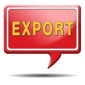 Export button — Stock Photo