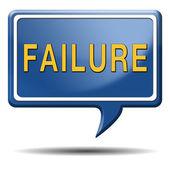 Failure — Stock Photo