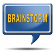Foto Stock: Brainstorm