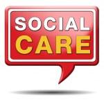 Постер, плакат: Social care