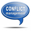 Conflict management — Stock fotografie