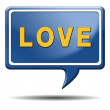 Love icon — Stockfoto