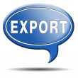 Export button — Foto de stock #36185535
