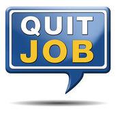 Quit job — Stock Photo