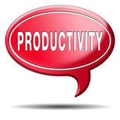 Produtividade — Fotografia Stock