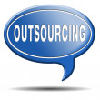 Outsourcing — Foto de Stock