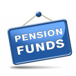 Stock Photo: Pension fund