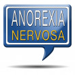 Anorexia nervosa — Stock Photo