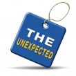The unexpected — Stock Photo