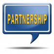 partnership — Foto Stock