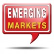 Stock Photo: Emerging markets