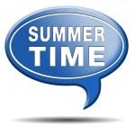 letní čas — Stock fotografie