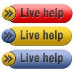 Live help — Stock Photo