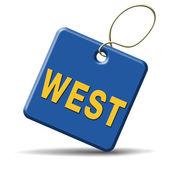 Lato ovest — Foto Stock